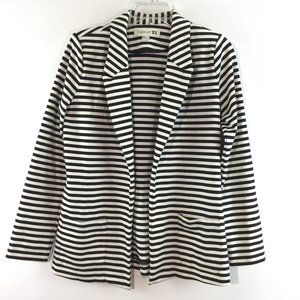 Forever 21 striped long sleeves jacket Size M
